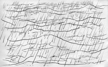sketch-rain-on-ocean-cc-larry-wentzel